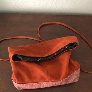 Free People, small over the shoulder bag.